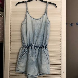 Jean Denim Romper Size Small New with Tags!